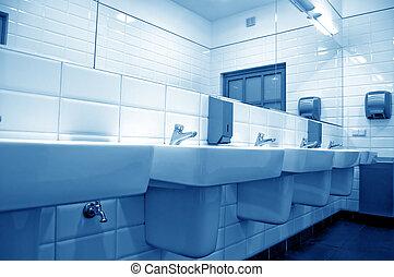 toaleta, publiczność