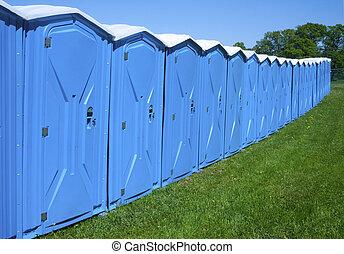 toalety, przenośny