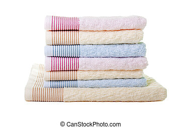 toalha, pilha