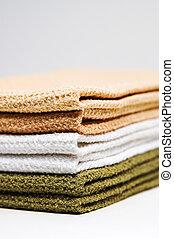 toalhas, pilha