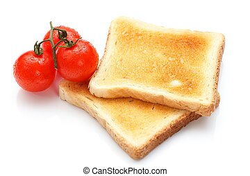 Toast and tomato