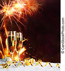 toast, année, virage
