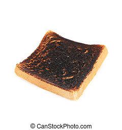 toast, brûlé