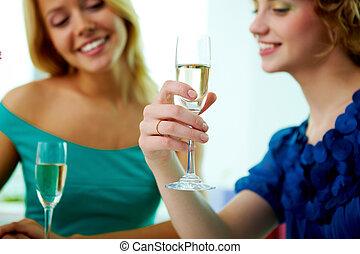toast, engagement