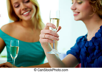 Toast for engagement