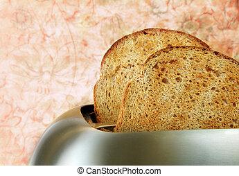 Toast in Toaster
