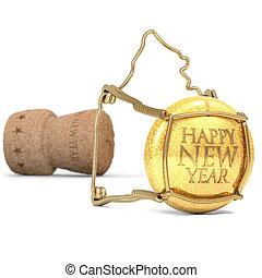 toast, nouvelle année