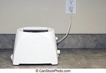 toaster, einsam