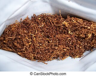 tobacco in packet
