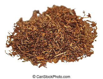tobacco isolated on white