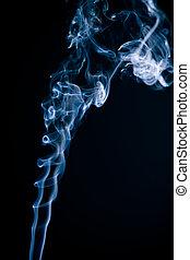 Tobacco smoke.