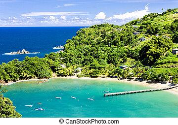 Tobago  - Parlatuvier Bay, Tobago