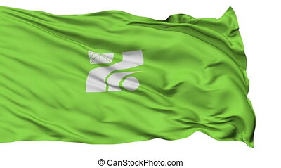 Tochigi Prefecture Isolated Flag - Flag of Tochigi...