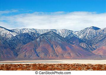 tod, usa, nationalpark, tal, salz, kalifornien, pfanne