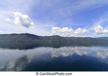 Todawa lake in Towada, Aomori, Japan