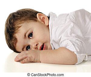 Toddler at Rest