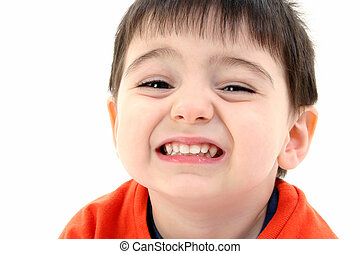 Toddler Boy Close Up
