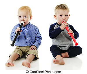 Toddler Boy Duet