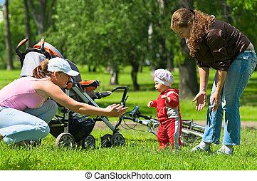 Toddler first steps