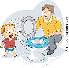 Toddler Flush
