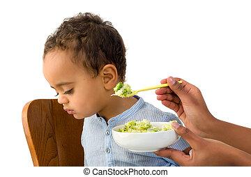 Toddler refusing to eat