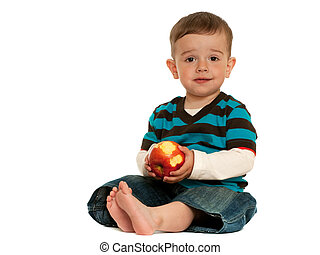Toddlers should eat apples!