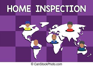 todos, foto, multiétnico, empresa / negocio, inspection.,...