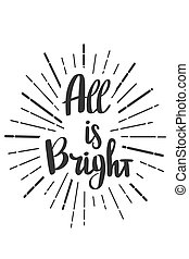 todos, garabato, style., brillante, deseos, letras, si, ...