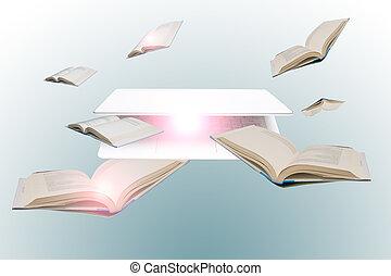 toegang, om te, online, informatie, voor, opleiding, studeren, en, leren