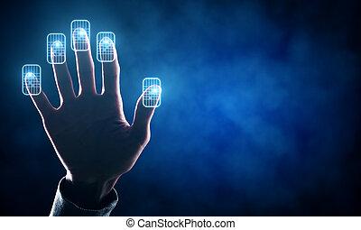 toekomst, concept, technologie