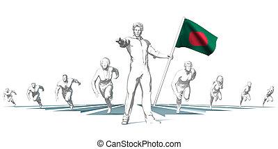 toekomst, het snelen, bangladesh