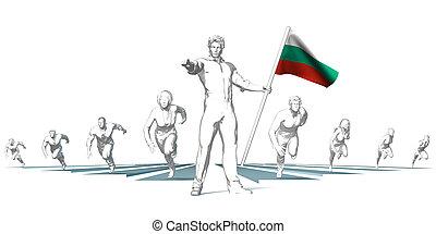 toekomst, het snelen, bulgarije
