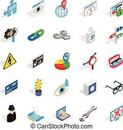 toekomst,  Set, technologie, iconen