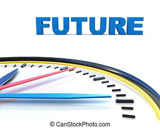 toekomst, tijd