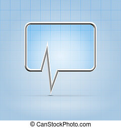toepassing, medisch, forum, pictogram
