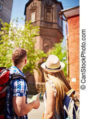 toeristen, sightseeing