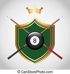 toernooi, billiard