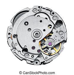 toestellen, mechanisme, klok