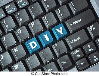 toetsenbord, doe het zelf