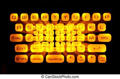 toetsenbord, speciaal effect