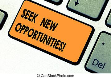 toetsenpaneel, foto, meldingsbord, computer, een ander, toetsenbord, boodschap, zoeken, scheppen, het kijken, intention, opportunities., conceptueel, nieuwe zaken, het tonen, werk, klee, idea., dringend, tekst, verschiet, of