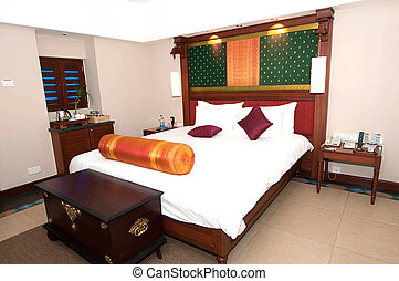toevluchtshotel, kamer, luxe