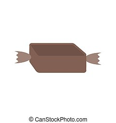Toffee, caramel, candy, icon vector image. Can also be used for Sweets and Confectionery. Suitable for use on web apps, mobile apps and print media.