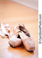 tofflor, balett