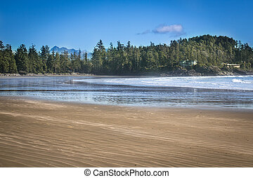 Tofino beach west coast of Vancouver Island