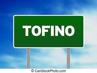 tofino, vej underskriv