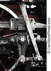 tog, hjul
