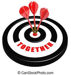 Together dart board