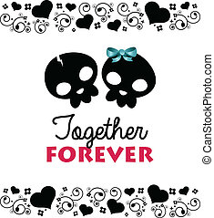 Together Forever Valentines Card