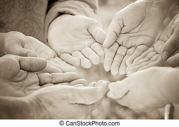 together - special sepia toned, focus point on center(...